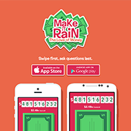 Make It Rain for iOS & Android